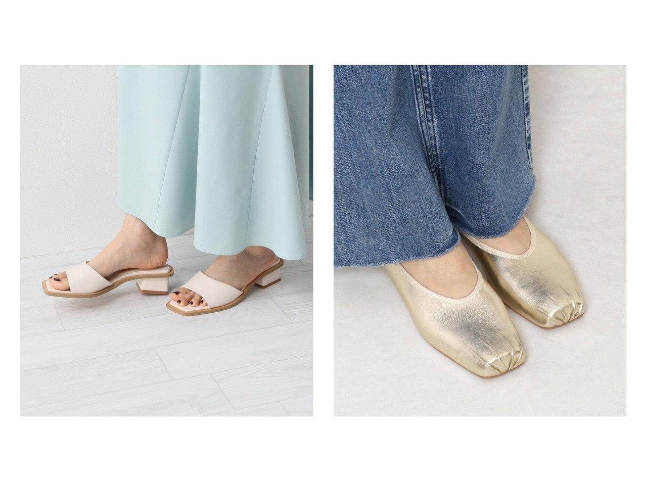 【Spick & Span/スピック&スパン】の【MOHI】スクエアバレーシューズ&【Le Talon/ル タロン】の3.5cmスクエアフレアヒールサンダル 【シューズ・靴】おすすめ!人気、トレンド・レディースファッションの通販 おすすめで人気の流行・トレンド、ファッションの通販商品 メンズファッション・キッズファッション・インテリア・家具・レディースファッション・服の通販 founy(ファニー) https://founy.com/ ファッション Fashion レディースファッション WOMEN 2021年 2021 2021春夏・S/S SS/Spring/Summer/2021 S/S・春夏 SS・Spring/Summer サンダル シューズ シンプル スクエア トレンド フレア ミュール 春 Spring ジュート スマート バレエ フォルム 人気 |ID:crp329100000036732