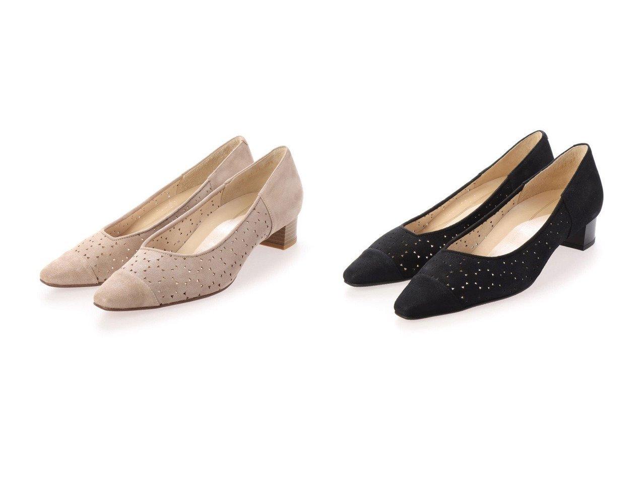 【MODE ET JACOMO/モード エ ジャコモ】のパンチングデザインパンプス 【シューズ・靴】おすすめ!人気、トレンド・レディースファッションの通販 おすすめで人気の流行・トレンド、ファッションの通販商品 メンズファッション・キッズファッション・インテリア・家具・レディースファッション・服の通販 founy(ファニー) https://founy.com/ ファッション Fashion レディースファッション WOMEN 送料無料 Free Shipping シューズ |ID:crp329100000036737