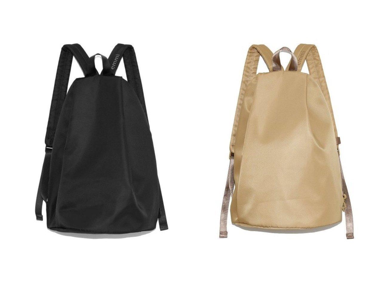 【emmi/エミ】の【emmi atelier】ボディバッグパック 【バッグ・鞄】おすすめ!人気、トレンド・レディースファッションの通販 おすすめで人気の流行・トレンド、ファッションの通販商品 メンズファッション・キッズファッション・インテリア・家具・レディースファッション・服の通販 founy(ファニー) https://founy.com/ ファッション Fashion レディースファッション WOMEN シンプル ポケット |ID:crp329100000036745