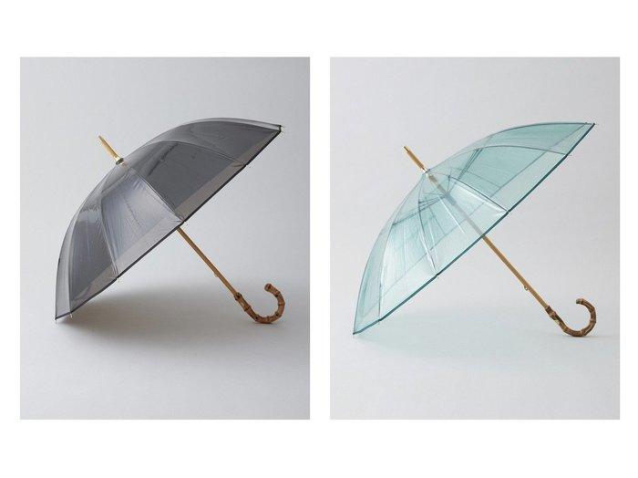 【TWW / Traditional Weatherwear/トラディショナル ウェザーウェア】のCLEAR UMBRELLA BAMBOO おすすめ!人気、トレンド・レディースファッションの通販   おすすめ人気トレンドファッション通販アイテム 人気、トレンドファッション・服の通販 founy(ファニー) ファッション Fashion レディースファッション WOMEN 傘 / レイングッズ Umbrellas/Rainwear バンブー 傘  ID:crp329100000036872