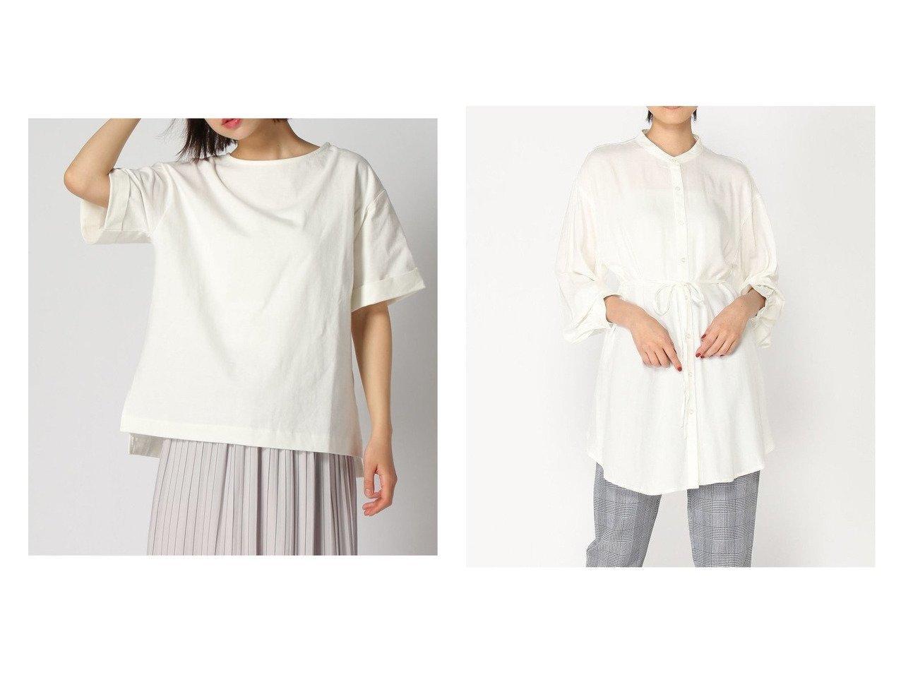 【GLOBAL WORK/グローバルワーク】の2WAYレーヨンロングシャツ&USAコットンSS 【プチプライス】おすすめ!人気トレンド・ファッション通販 おすすめで人気の流行・トレンド、ファッションの通販商品 メンズファッション・キッズファッション・インテリア・家具・レディースファッション・服の通販 founy(ファニー) https://founy.com/ ファッション Fashion レディースファッション WOMEN トップス・カットソー Tops/Tshirt シャツ/ブラウス Shirts/Blouses ロング / Tシャツ T-Shirts カットソー Cut and Sewn S/S・春夏 SS・Spring/Summer おすすめ Recommend インナー カットソー コンパクト スリット タイトスカート タンク バランス プリーツ ボトム ロング ワイド 今季 定番 Standard 抗菌 春 Spring ギャザー フェミニン フレア ベスト リボン 羽織 長袖 |ID:crp329100000037020