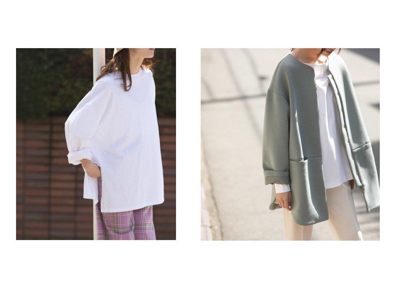 【marjour/マージュール】のボンディングコート BONDING COAT&オーバーTEE OVER TEE おすすめ!人気、トレンド・レディースファッションの通販 おすすめで人気の流行・トレンド、ファッションの通販商品 メンズファッション・キッズファッション・インテリア・家具・レディースファッション・服の通販 founy(ファニー) https://founy.com/ ファッション Fashion レディースファッション WOMEN アウター Coat Outerwear コート Coats アクセサリー インナーキャミ カーディガン 吸水 シンプル スリット デニム 長袖 バランス バングル 冬 Winter おすすめ Recommend インナー ボンディング ロング |ID:crp329100000037036