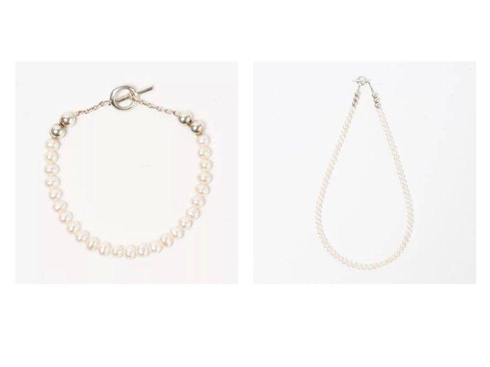 【SYMPATHY OF SOUL Style/シンパシー オブ ソウル】のPearl Beads T-bar Bracelet&Pearl Beads T-bar Necklace 【リー/LEE】ファッション雑誌掲載!おすすめ人気トレンド・レディースファッション通販 おすすめ人気トレンドファッション通販アイテム 人気、トレンドファッション・服の通販 founy(ファニー) 雑誌掲載アイテム Magazine Items ファッション雑誌 Fashion Magazines リー LEE ファッション Fashion レディースファッション WOMEN ジュエリー Jewelry ネックレス Necklaces ブレスレット Bracelets バングル Bangles 5月号 アクセサリー シンプル ネックレス バランス パール フロント 雑誌 |ID:crp329100000037048