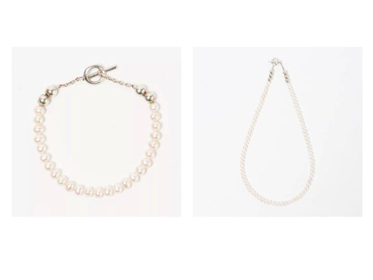 【SYMPATHY OF SOUL Style/シンパシー オブ ソウル】のPearl Beads T-bar Bracelet&Pearl Beads T-bar Necklace 【リー/LEE】ファッション雑誌掲載!おすすめ人気トレンド・レディースファッション通販 おすすめファッション通販アイテム インテリア・キッズ・メンズ・レディースファッション・服の通販 founy(ファニー)  雑誌掲載アイテム Magazine Items ファッション雑誌 Fashion Magazines リー LEE ファッション Fashion レディースファッション WOMEN ジュエリー Jewelry ネックレス Necklaces ブレスレット Bracelets バングル Bangles 5月号 アクセサリー シンプル ネックレス バランス パール フロント 雑誌 ゴールド系 Gold  ID:crp329100000037048