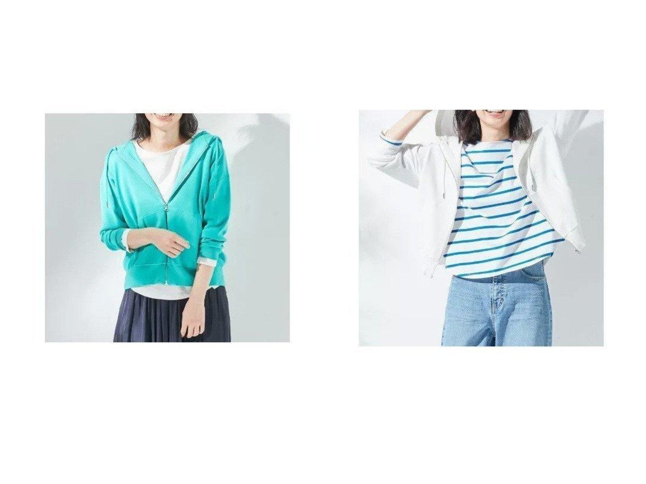 【KUMIKYOKU/組曲】の【KMKK】PE ニットアップ ジップアップパーカ(KF22) おすすめ!人気、トレンド・レディースファッションの通販 おすすめファッション通販アイテム インテリア・キッズ・メンズ・レディースファッション・服の通販 founy(ファニー)  ファッションモデル・俳優・女優 Models 女性 Women 東原亜希 Higashihara Aki ファッション Fashion レディースファッション WOMEN トップス・カットソー Tops/Tshirt ニット Knit Tops パーカ Sweats スウェット Sweat セットアップ Setup トップス Tops 秋 Autumn/Fall コンパクト 抗菌 ジップアップ スウェット ストレッチ パーカー ベーシック ポケット 2021年 2021 S/S・春夏 SS・Spring/Summer 2021春夏・S/S SS/Spring/Summer/2021 ブルー系 Blue イエロー系 Yellow オレンジ系 Orange グリーン系 Green |ID:crp329100000037165