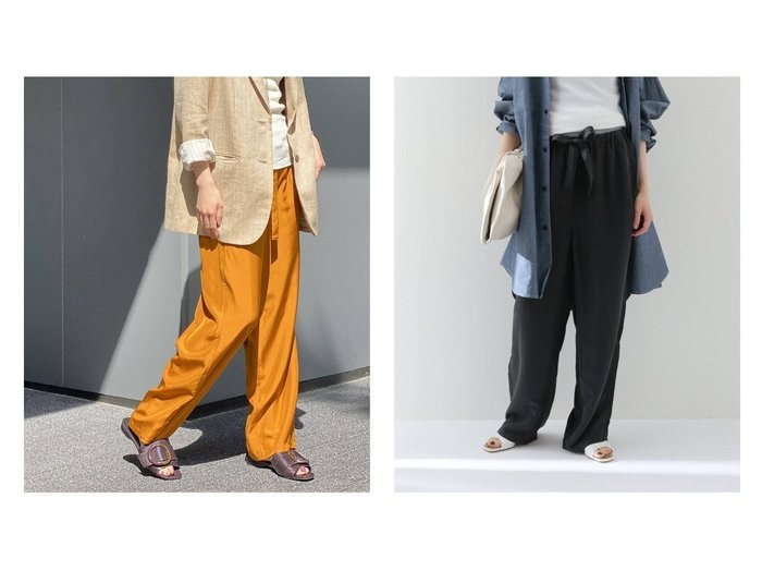 【FRAMeWORK/フレームワーク】の【LOOMER】silk pajama pants 別注・限定・コラボなど、おすすめ!人気トレンド・レディースファッション通販 おすすめファッション通販アイテム レディースファッション・服の通販 founy(ファニー) ファッション Fashion レディースファッション WOMEN パンツ Pants NEW・新作・新着・新入荷 New Arrivals 2021年 2021 2021春夏・S/S SS/Spring/Summer/2021 S/S・春夏 SS・Spring/Summer シルク ジーンズ パジャマ リラックス 別注 |ID:crp329100000037341
