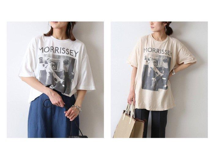 【FRAMeWORK/フレームワーク】の【THRIFTY LOOK】MORRISSEY Tシャツ(ホワイト)&【THRIFTY LOOK】 MORRISSEY Tシャツ(ベージュ) 別注・限定・コラボなど、おすすめ!人気トレンド・レディースファッション通販 おすすめファッション通販アイテム レディースファッション・服の通販 founy(ファニー) ファッション Fashion レディースファッション WOMEN トップス・カットソー Tops/Tshirt シャツ/ブラウス Shirts/Blouses ロング / Tシャツ T-Shirts カットソー Cut and Sewn ヴィンテージ カットソー 別注 2021年 2021 S/S・春夏 SS・Spring/Summer 2021春夏・S/S SS/Spring/Summer/2021 NEW・新作・新着・新入荷 New Arrivals |ID:crp329100000037342