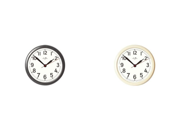 【HERMOSA/ハモサ】のHK ホーロークロック 【FURNITURE】おすすめ!人気、インテリア・家具の通販 おすすめファッション通販アイテム レディースファッション・服の通販 founy(ファニー) 送料無料 Free Shipping 時計 |ID:crp329100000037351