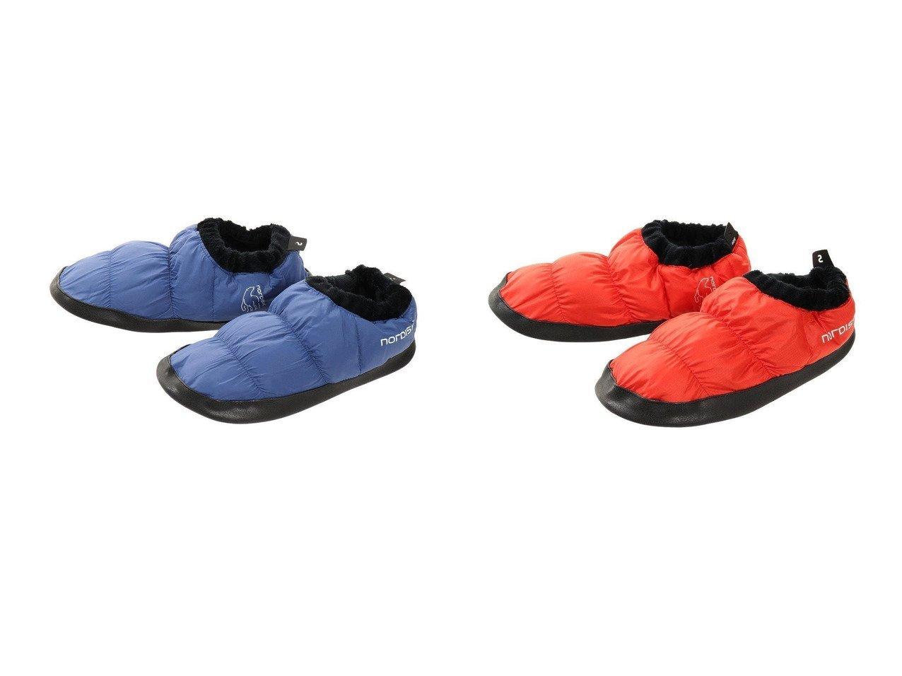 【Nordisk/ノルディスク】のモス ダウン シューズ L.Blue 109060-BLU&モス ダウン シューズ R.Red 109060-RED おすすめ!人気キャンプ・アウトドア用品の通販 おすすめで人気の流行・トレンド、ファッションの通販商品 メンズファッション・キッズファッション・インテリア・家具・レディースファッション・服の通販 founy(ファニー) https://founy.com/ A/W・秋冬 AW・Autumn/Winter・FW・Fall-Winter コンパクト シューズ スリッパ ダウン リラックス 軽量 ホーム・キャンプ・アウトドア Home,Garden,Outdoor,Camping Gear キャンプ用品・アウトドア  Camping Gear & Outdoor Supplies その他 雑貨 小物 Camping Tools |ID:crp329100000037433