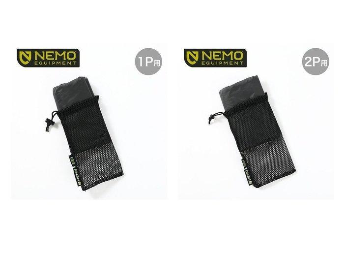 【NEMO Equipment/ニーモイクイップメント】のドラゴンフライバイクパック 1P フットプリント&ドラゴンフライバイクパック 2P フットプリント おすすめ!人気キャンプ・アウトドア用品の通販 おすすめ人気トレンドファッション通販アイテム 人気、トレンドファッション・服の通販 founy(ファニー) ファッション Fashion メンズファッション MEN |ID:crp329100000037437
