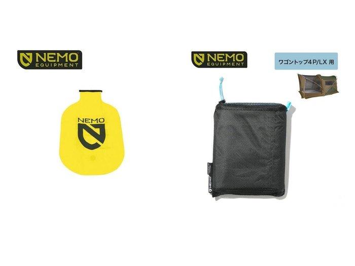【NEMO Equipment/ニーモイクイップメント】のボルテックスパッドポンプ&ワゴントップ4P LX用フットプリント おすすめ!人気キャンプ・アウトドア用品の通販 おすすめファッション通販アイテム レディースファッション・服の通販 founy(ファニー) ファッション Fashion メンズファッション MEN メッシュ |ID:crp329100000037440