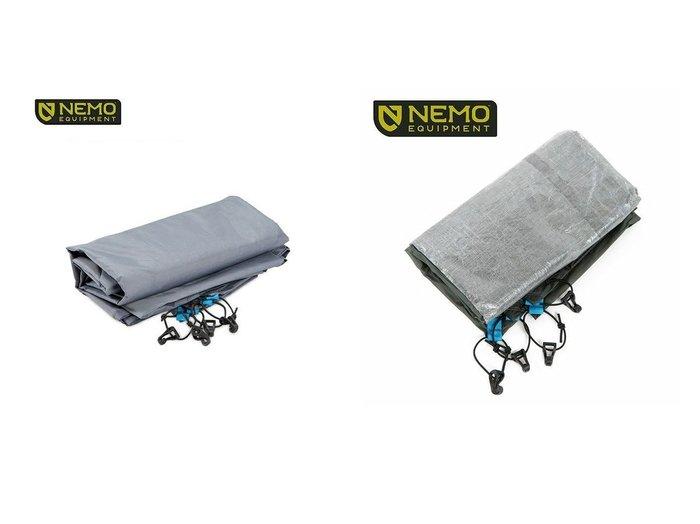 【NEMO Equipment/ニーモイクイップメント】のロケット 2P ダイニーマ フットプリント&ロケット 2P フットプリント おすすめ!人気キャンプ・アウトドア用品の通販 おすすめファッション通販アイテム レディースファッション・服の通販 founy(ファニー) ファッション Fashion メンズファッション MEN |ID:crp329100000037441
