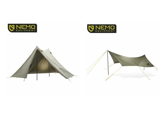 【NEMO Equipment/ニーモイクイップメント】のヘキサライト 6P エレメント&シャドウキャスター165 エレメント おすすめ!人気キャンプ・アウトドア用品の通販 おすすめファッション通販アイテム レディースファッション・服の通販 founy(ファニー) ファッション Fashion メンズファッション MEN スプリング |ID:crp329100000037442