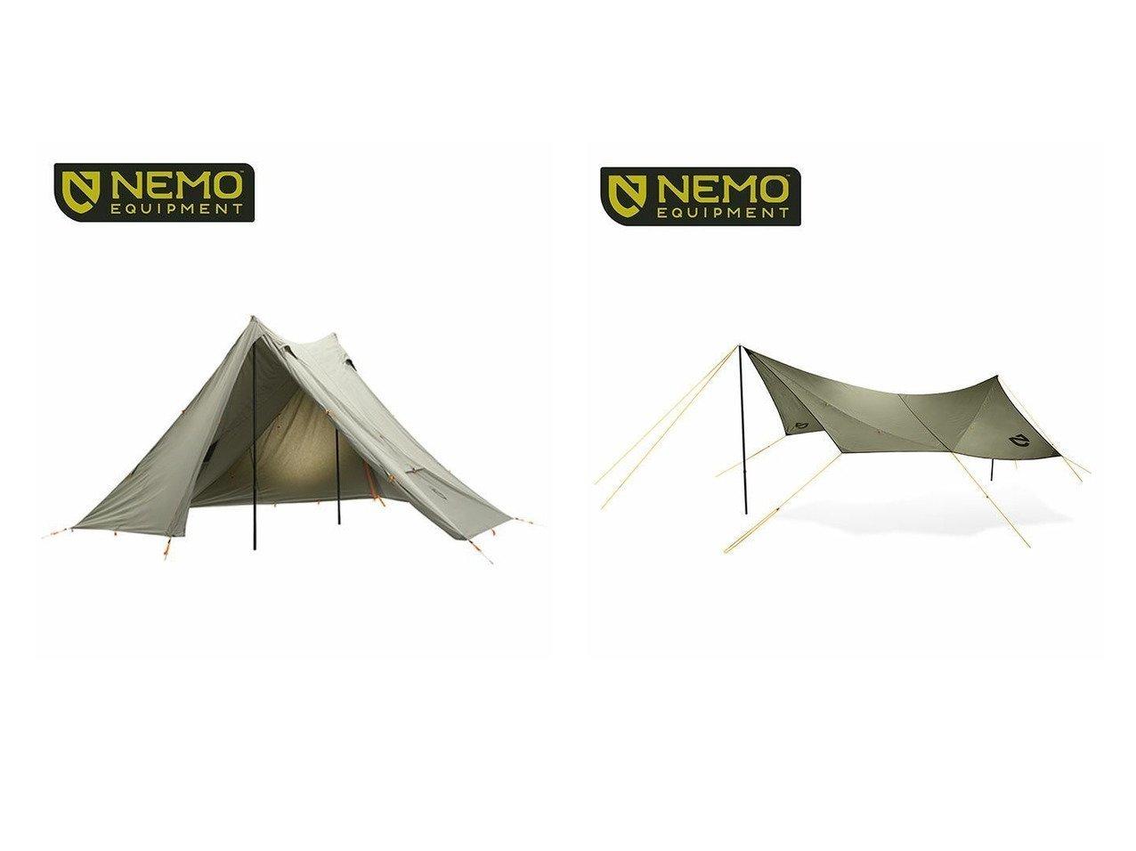 【NEMO Equipment/ニーモイクイップメント】のヘキサライト 6P エレメント&シャドウキャスター165 エレメント おすすめ!人気キャンプ・アウトドア用品の通販 おすすめファッション通販アイテム インテリア・キッズ・メンズ・レディースファッション・服の通販 founy(ファニー)  ファッション Fashion メンズファッション MEN スプリング |ID:crp329100000037442