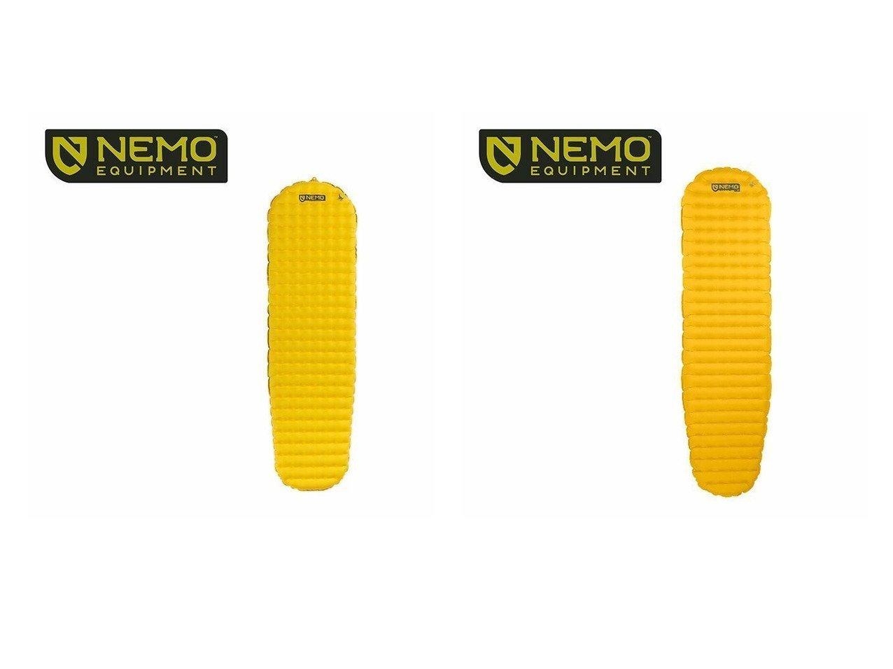 【NEMO Equipment/ニーモイクイップメント】のテンサー インシュレーテッド レギュラー マミー&テンサー レギュラー マミー おすすめ!人気キャンプ・アウトドア用品の通販 おすすめファッション通販アイテム インテリア・キッズ・メンズ・レディースファッション・服の通販 founy(ファニー)  ファッション Fashion メンズファッション MEN フレーム レギュラー |ID:crp329100000037443
