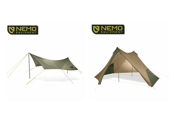 【NEMO Equipment/ニーモイクイップメント】のシャドウキャスター110 エレメント&ヘキサライト 6P おすすめ!人気キャンプ・アウトドア用品の通販 おすすめファッション通販アイテム レディースファッション・服の通販 founy(ファニー) ファッション Fashion メンズファッション MEN スプリング |ID:crp329100000037444