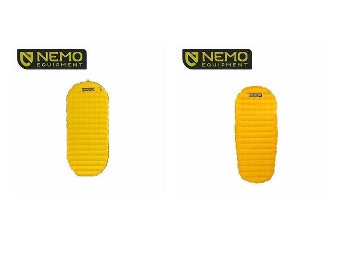 【NEMO Equipment/ニーモイクイップメント】のテンサー ショート マミー&テンサー インシュレーテッド ショート マミー おすすめ!人気キャンプ・アウトドア用品の通販 おすすめファッション通販アイテム レディースファッション・服の通販 founy(ファニー) ファッション Fashion メンズファッション MEN ショート フレーム |ID:crp329100000037445