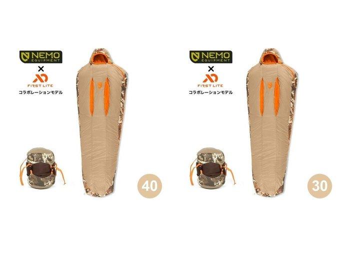 【NEMO Equipment/ニーモイクイップメント】のスカウト40&スカウト30 おすすめ!人気キャンプ・アウトドア用品の通販 おすすめ人気トレンドファッション通販アイテム 人気、トレンドファッション・服の通販 founy(ファニー)  ファッション Fashion メンズファッション MEN コンパクト シェイプ シルバー タフタ ダウン フェザー ライニング 軽量 |ID:crp329100000037448