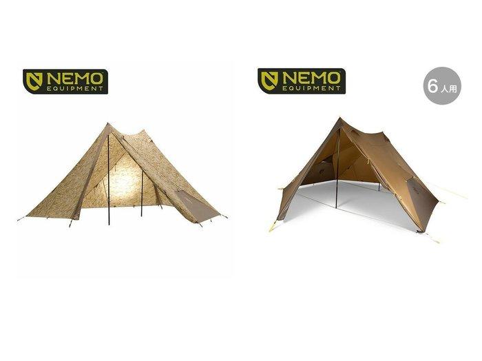 【NEMO Equipment/ニーモイクイップメント】のヘキサライト SE 6P&ヘキサライト 6P LE おすすめ!人気キャンプ・アウトドア用品の通販 おすすめファッション通販アイテム レディースファッション・服の通販 founy(ファニー) ファッション Fashion メンズファッション MEN シンプル 軽量 |ID:crp329100000037449
