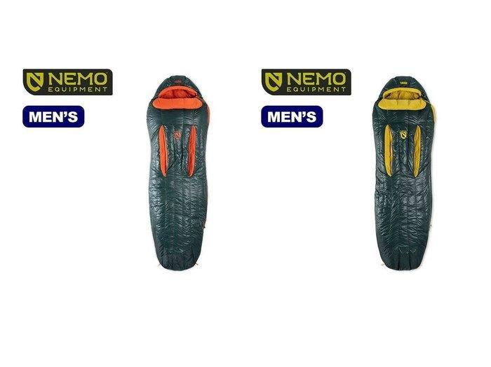 【NEMO Equipment/ニーモイクイップメント】のリフ 15 メンズ&リフ 30 メンズ おすすめ!人気キャンプ・アウトドア用品の通販 おすすめファッション通販アイテム レディースファッション・服の通販 founy(ファニー) ファッション Fashion メンズファッション MEN コンパクト 軽量 シェイプ タフタ ダウン バランス メンズ ライニング |ID:crp329100000037450