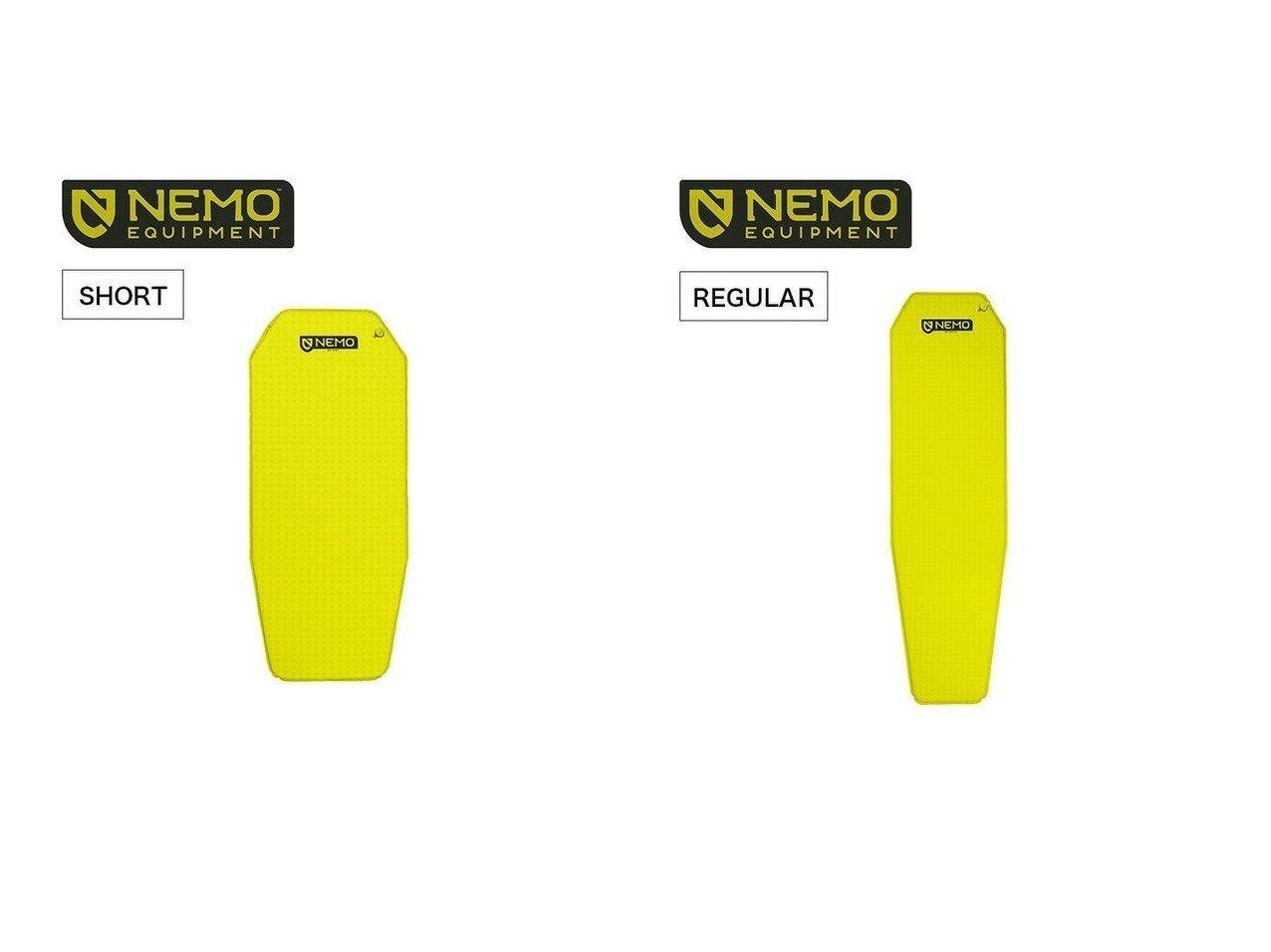 【NEMO Equipment/ニーモイクイップメント】のゾア ショートマミー&ゾア レギュラーマミー おすすめ!人気キャンプ・アウトドア用品の通販 おすすめファッション通販アイテム インテリア・キッズ・メンズ・レディースファッション・服の通販 founy(ファニー)  ファッション Fashion メンズファッション MEN コンパクト セットアップ バランス フォーム 軽量 |ID:crp329100000037454