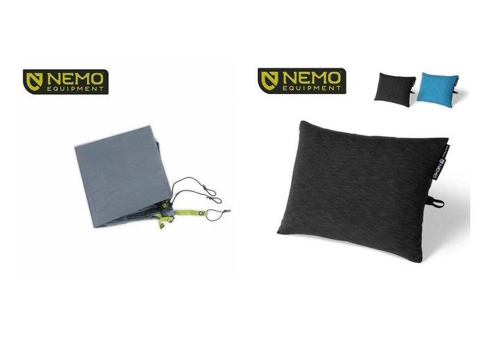 【NEMO Equipment/ニーモイクイップメント】のアトム 1P フットプリント&フィッロエリート おすすめ!人気キャンプ・アウトドア用品の通販 おすすめファッション通販アイテム レディースファッション・服の通販 founy(ファニー) ファッション Fashion メンズファッション MEN コンパクト フィット フレーム |ID:crp329100000037458