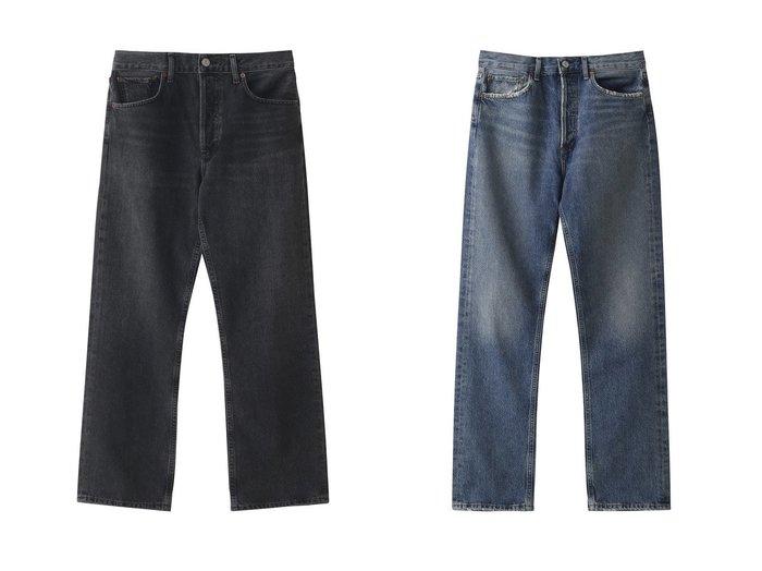 【Whim Gazette/ウィムガゼット】の【AGOLDE】MIDRISE STデニム&【AGOLDE】Vintageストレートデニム 【パンツ】おすすめ!人気、トレンド・レディースファッションの通販 おすすめファッション通販アイテム レディースファッション・服の通販 founy(ファニー)  ファッション Fashion レディースファッション WOMEN パンツ Pants デニムパンツ Denim Pants クロップド ストレート デニム ハイヒール ルーズ |ID:crp329100000037573