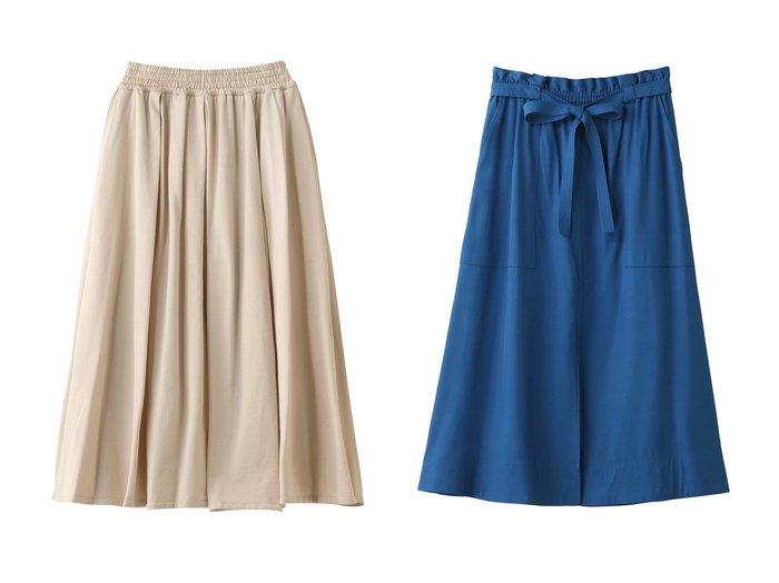 【martinique/マルティニーク】のスリットスカート&【ebure/エブール】のクールミニパイル タックギャザースカート 【スカート】おすすめ!人気、トレンド・レディースファッションの通販 おすすめファッション通販アイテム レディースファッション・服の通販 founy(ファニー)  ファッション Fashion レディースファッション WOMEN スカート Skirt ロングスカート Long Skirt おすすめ Recommend エアリー カットソー ギャザー シルケット ロング スリット フィット フロント |ID:crp329100000037605