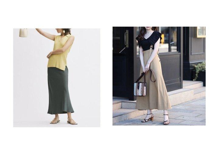 【Rirandture/リランドチュール】の2WAYフレアジャンスカ&【Mila Owen/ミラオーウェン】のサテンバイアスロングスカート 【スカート】おすすめ!人気、トレンド・レディースファッションの通販 おすすめファッション通販アイテム レディースファッション・服の通販 founy(ファニー) ファッション Fashion レディースファッション WOMEN スカート Skirt ロングスカート Long Skirt インナー ウォッシャブル スマート バイアス フレア ベーシック リラックス NEW・新作・新着・新入荷 New Arrivals リバーシブル |ID:crp329100000037609