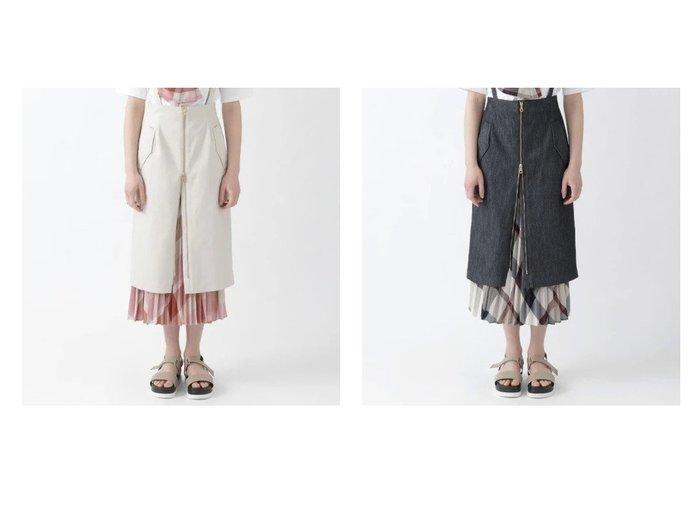 【BLUE LABEL CRESTBRIDGE/ブルーレーベル クレストブリッジ】のストレッチギャバ 5WAYスカート 【スカート】おすすめ!人気、トレンド・レディースファッションの通販 おすすめファッション通販アイテム インテリア・キッズ・メンズ・レディースファッション・服の通販 founy(ファニー) https://founy.com/ ファッション Fashion レディースファッション WOMEN スカート Skirt おすすめ Recommend サスペンダー ショート ジップ ストレッチ タイトスカート プリーツ |ID:crp329100000037615