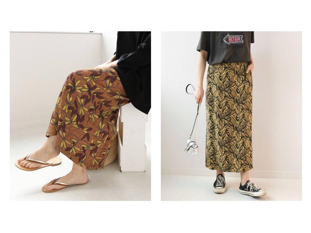 【JOURNAL STANDARD relume/ジャーナルスタンダード レリューム】の【DEVEAUX】アフリカンリーフスカート&WEB限定Cupra Iラインスカート 【スカート】おすすめ!人気、トレンド・レディースファッションの通販 おすすめファッション通販アイテム インテリア・キッズ・メンズ・レディースファッション・服の通販 founy(ファニー)  ファッション Fashion レディースファッション WOMEN スカート Skirt ロングスカート Long Skirt NEW・新作・新着・新入荷 New Arrivals 2021年 2021 2021春夏・S/S SS/Spring/Summer/2021 S/S・春夏 SS・Spring/Summer フランス プリント リゾート ロング 再入荷 Restock/Back in Stock/Re Arrival イエロー系 Yellow |ID:crp329100000037616