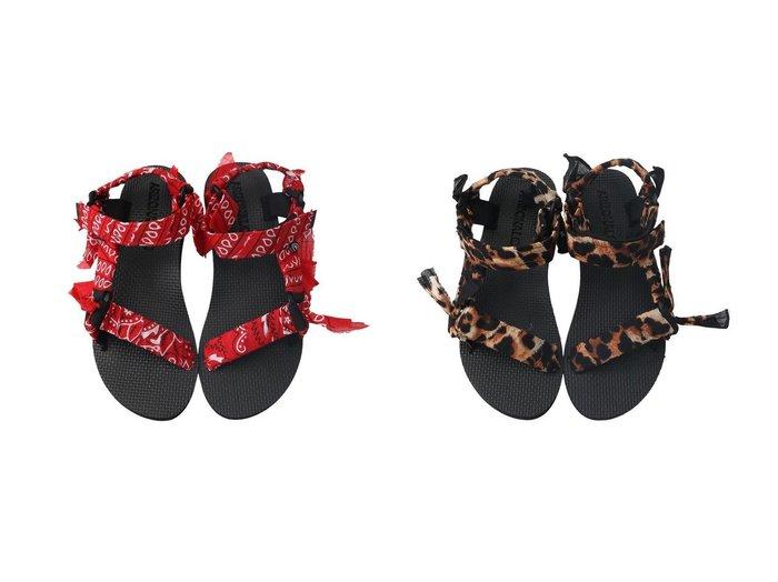 【ARIZONA LOVE/アリゾナ ラブ】のTREKKY LEO BANDANA サンダル&TREKKY BANDANA サンダル 【シューズ・靴】おすすめ!人気、トレンド・レディースファッションの通販 おすすめファッション通販アイテム レディースファッション・服の通販 founy(ファニー)  ファッション Fashion レディースファッション WOMEN サンダル スポーツ バンダナ ビーチ ペイズリー ラップ レオパード |ID:crp329100000037629