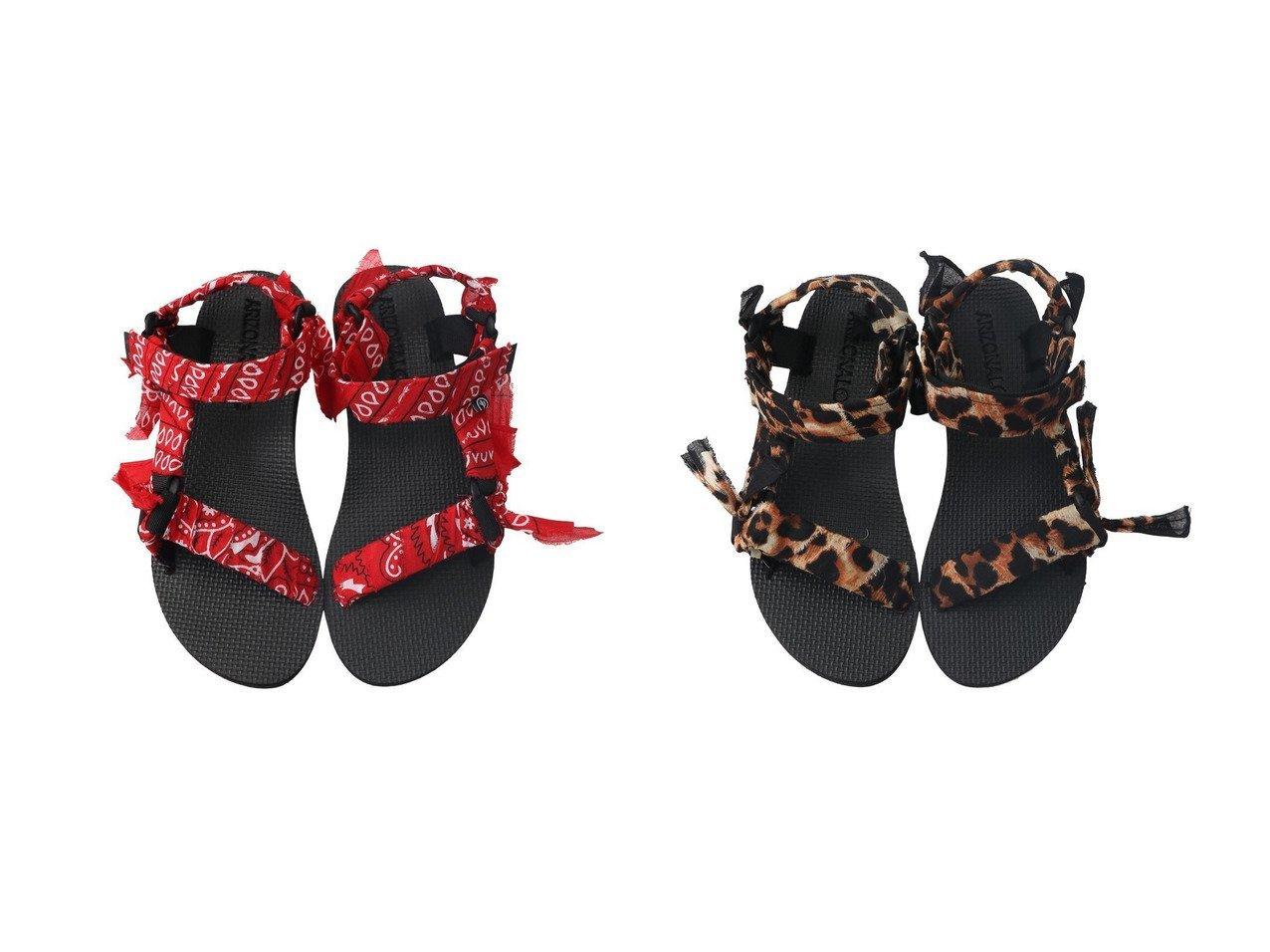 【ARIZONA LOVE/アリゾナ ラブ】のTREKKY LEO BANDANA サンダル&TREKKY BANDANA サンダル 【シューズ・靴】おすすめ!人気、トレンド・レディースファッションの通販 おすすめ人気トレンドファッション通販アイテム インテリア・キッズ・メンズ・レディースファッション・服の通販 founy(ファニー)  ファッション Fashion レディースファッション WOMEN サンダル スポーツ バンダナ ビーチ ペイズリー ラップ レオパード オレンジ系 Orange ブラック系 Black |ID:crp329100000037629