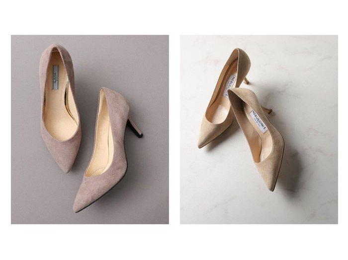 【EVOL/イーボル】の本革7.5cmパンプス&【Plage/プラージュ】の【ネブローニ】SUEDE 6.5HEEL パンプス 【シューズ・靴】おすすめ!人気、トレンド・レディースファッションの通販 おすすめファッション通販アイテム レディースファッション・服の通販 founy(ファニー) ファッション Fashion レディースファッション WOMEN シューズ 2020年 2020 2020-2021秋冬・A/W AW・Autumn/Winter・FW・Fall-Winter/2020-2021 A/W・秋冬 AW・Autumn/Winter・FW・Fall-Winter イタリア エレガント シンプル スエード トレンド ハンド 人気 定番 Standard |ID:crp329100000037636