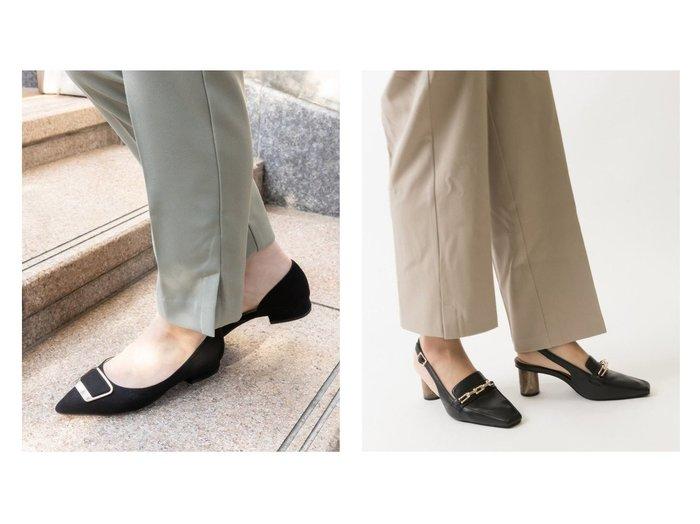 【RANDA/ランダ】のゴールドパーツサイドオープンポインテッドトゥパンプス&ソフト ゴールドチェーンバックストラップスクエアトゥシューズ 【シューズ・靴】おすすめ!人気、トレンド・レディースファッションの通販 おすすめファッション通販アイテム レディースファッション・服の通販 founy(ファニー) ファッション Fashion レディースファッション WOMEN バッグ Bag NEW・新作・新着・新入荷 New Arrivals クッション シューズ チェーン |ID:crp329100000037637