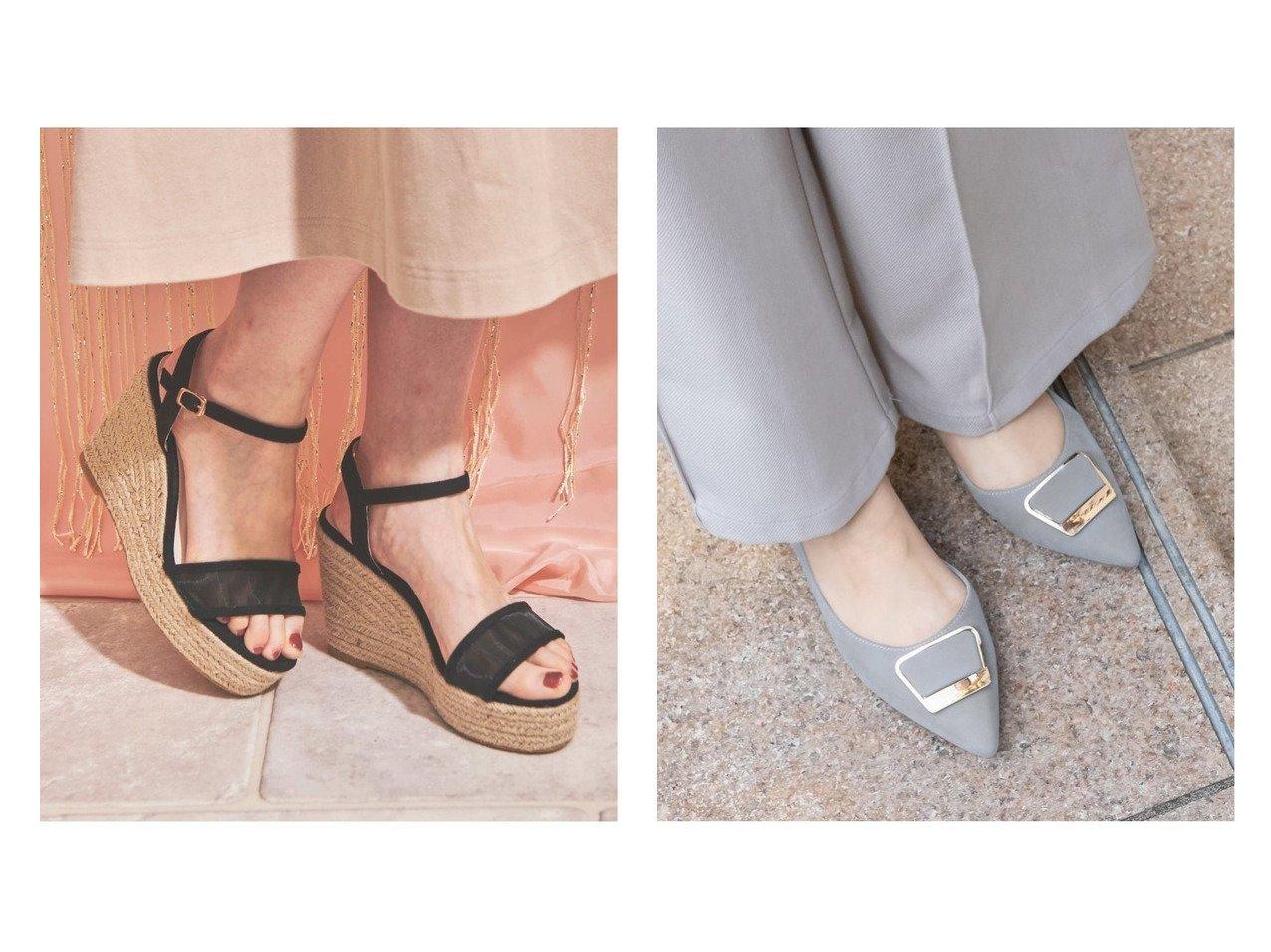 【RANDA/ランダ】のゴールドパーツサイドオープンポインテッドトゥパンプス&【Noela/ノエラ】のストラップジュードサンダル 【シューズ・靴】おすすめ!人気、トレンド・レディースファッションの通販 おすすめファッション通販アイテム インテリア・キッズ・メンズ・レディースファッション・服の通販 founy(ファニー)  ファッション Fashion レディースファッション WOMEN サンダル シューズ ジュート バランス ミュール ロング NEW・新作・新着・新入荷 New Arrivals クッション ホワイト系 White ブラック系 Black ブラウン系 Brown ベージュ系 Beige ブルー系 Blue |ID:crp329100000037638