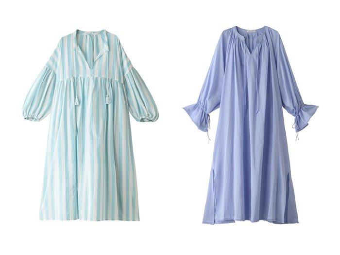 【HOUSE OF LOTUS/ハウス オブ ロータス】のカディストライプワンピース&フリンジギャザーワンピース 【ワンピース・ドレス】おすすめ!人気、トレンド・レディースファッションの通販 おすすめファッション通販アイテム レディースファッション・服の通販 founy(ファニー) ファッション Fashion レディースファッション WOMEN ワンピース Dress S/S・春夏 SS・Spring/Summer おすすめ Recommend インド ストライプ スリット セットアップ タッセル リボン ロング 定番 Standard 春 Spring フリンジ |ID:crp329100000037672