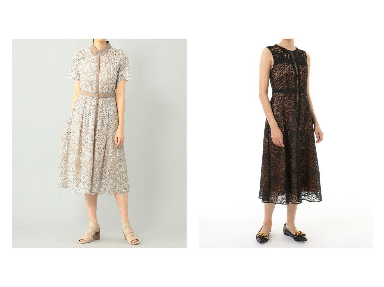 【GRACE CONTINENTAL/グレース コンチネンタル】のレースコンビラインドレス&ジョーゼットカットワークワンピース 【ワンピース・ドレス】おすすめ!人気、トレンド・レディースファッションの通販 おすすめで人気の流行・トレンド、ファッションの通販商品 メンズファッション・キッズファッション・インテリア・家具・レディースファッション・服の通販 founy(ファニー) https://founy.com/ ファッション Fashion レディースファッション WOMEN ワンピース Dress ドレス Party Dresses NEW・新作・新着・新入荷 New Arrivals スカラップ フォーマル ワーク |ID:crp329100000037701