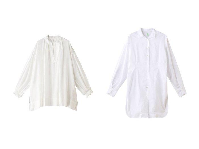 【Chaos/カオス】の【Finamore】 GISELLEシャツ&【HOUSE OF LOTUS/ハウス オブ ロータス】のフリンジペザントブラウス 【トップス・カットソー】おすすめ!人気、トレンド・レディースファッションの通販 おすすめファッション通販アイテム レディースファッション・服の通販 founy(ファニー) ファッション Fashion レディースファッション WOMEN トップス・カットソー Tops/Tshirt シャツ/ブラウス Shirts/Blouses スリット スリーブ チュニック フリンジ ロング |ID:crp329100000037711
