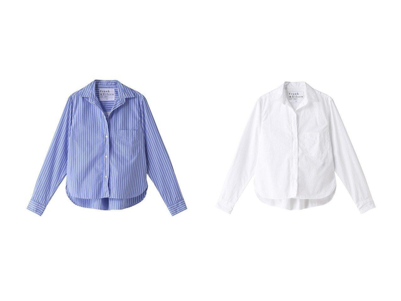【Frank&Eileen/フランク&アイリーン】のSILVIO LIMITED EDITION イタリアンコットンブルーストライプシャツ&SILVIO LIMITED EDITION イタリアンコットン ホワイトシャツ 【トップス・カットソー】おすすめ!人気、トレンド・レディースファッションの通販 おすすめで人気の流行・トレンド、ファッションの通販商品 メンズファッション・キッズファッション・インテリア・家具・レディースファッション・服の通販 founy(ファニー) https://founy.com/ ファッション Fashion レディースファッション WOMEN トップス・カットソー Tops/Tshirt シャツ/ブラウス Shirts/Blouses ストライプ スリーブ ロング 長袖 |ID:crp329100000037727
