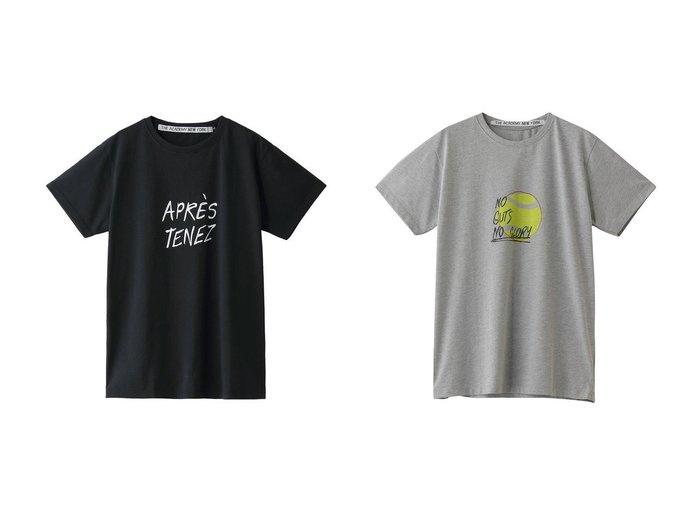 【GALLARDAGALANTE/ガリャルダガランテ】の【THE ACADEMY NEW YORK】イラストTシャツ&【THE ACADEMY NEW YORK】Tシャツ/Apres Tenez 【トップス・カットソー】おすすめ!人気、トレンド・レディースファッションの通販 おすすめ人気トレンドファッション通販アイテム 人気、トレンドファッション・服の通販 founy(ファニー) ファッション Fashion レディースファッション WOMEN トップス・カットソー Tops/Tshirt シャツ/ブラウス Shirts/Blouses ロング / Tシャツ T-Shirts カットソー Cut and Sewn ショート シンプル スリーブ 半袖 |ID:crp329100000037731