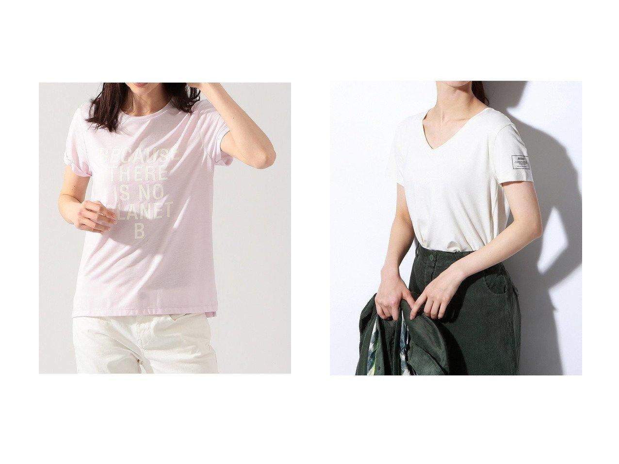【ECOALF/エコアルフ】のESPOT バックプリント Tシャツ ESPOT T-SHIRT WOMAN&ONDA BACAUSE Tシャツ ONDA BACAUSE T-SHIRT WOMAN 【トップス・カットソー】おすすめ!人気、トレンド・レディースファッションの通販 おすすめで人気の流行・トレンド、ファッションの通販商品 メンズファッション・キッズファッション・インテリア・家具・レディースファッション・服の通販 founy(ファニー) https://founy.com/ ファッション Fashion レディースファッション WOMEN トップス・カットソー Tops/Tshirt シャツ/ブラウス Shirts/Blouses ロング / Tシャツ T-Shirts カットソー Cut and Sewn コレクション ショート スリーブ 再入荷 Restock/Back in Stock/Re Arrival |ID:crp329100000037737