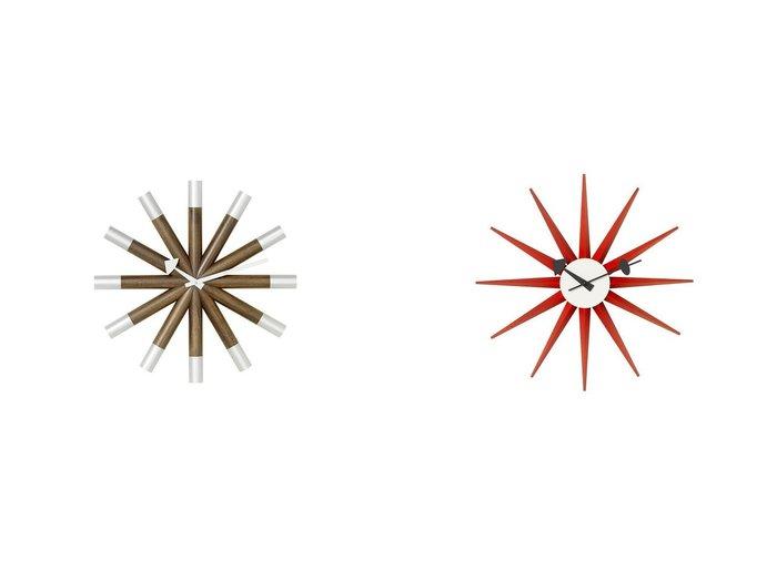 【Vitra/ヴィトラ】のウォール クロック サンバースト クロック&ウォール クロック ウィール クロック 【FURNITURE】おすすめ!人気、インテリア・家具の通販 おすすめファッション通販アイテム レディースファッション・服の通販 founy(ファニー) 腕時計 コレクション 時計 送料無料 Free Shipping  ID:crp329100000037990