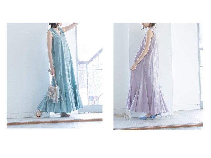 【NOBLE / Spick & Span/ノーブル / スピック&スパン】の2 【MARIHA】夏の月影のドレス 別注・限定・コラボなど、おすすめ!人気トレンド・レディースファッション通販 おすすめファッション通販アイテム レディースファッション・服の通販 founy(ファニー) ファッション Fashion レディースファッション WOMEN ワンピース Dress ドレス Party Dresses NEW・新作・新着・新入荷 New Arrivals 2021年 2021 2021春夏・S/S SS/Spring/Summer/2021 S/S・春夏 SS・Spring/Summer ドレス ラベンダー 再入荷 Restock/Back in Stock/Re Arrival 別注 定番 Standard  ID:crp329100000038108