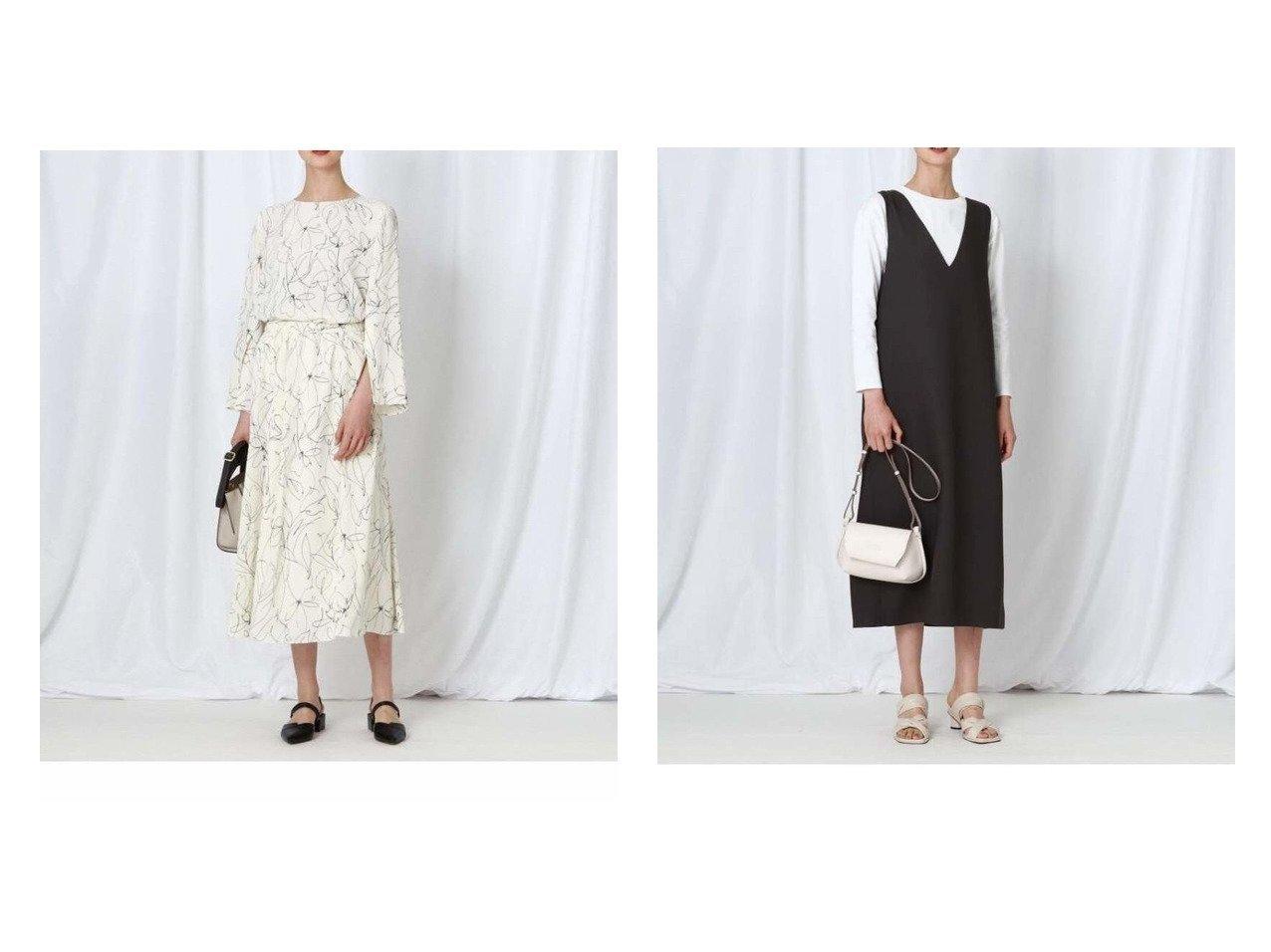 【INDIVI/インディヴィ】の【WEB限定】ジャンスカ+ロンT セット&【WEB限定】ハンドペイント柄セットアップ 別注・限定・コラボなど、おすすめ!人気トレンド・レディースファッション通販 おすすめで人気の流行・トレンド、ファッションの通販商品 メンズファッション・キッズファッション・インテリア・家具・レディースファッション・服の通販 founy(ファニー) https://founy.com/ ファッション Fashion レディースファッション WOMEN ワンピース Dress トップス・カットソー Tops/Tshirt アンサンブル Knit Ensemble ロング / Tシャツ T-Shirts カットソー Cut and Sewn ギャザー シンプル スリット セットアップ トレンド ハンド おすすめ Recommend アンサンブル インナー カットソー |ID:crp329100000038203