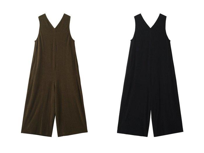 【PLAIN PEOPLE/プレインピープル】のソフトパイルサロペットパンツ 【パンツ】おすすめ!人気、トレンド・レディースファッションの通販  おすすめファッション通販アイテム レディースファッション・服の通販 founy(ファニー) ファッション Fashion レディースファッション WOMEN サロペット |ID:crp329100000038271
