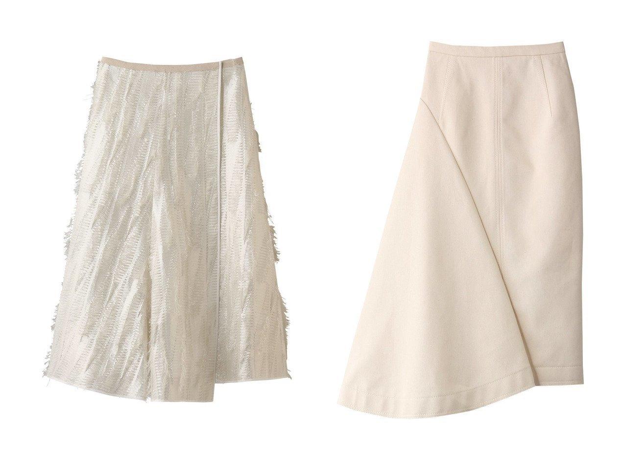 【BLAMINK/ブラミンク】のラメフリンジフレアスカート&【N°21/ヌメロ ヴェントゥーノ】のイレギュラーヘムジップアップスカート 【スカート】おすすめ!人気、トレンド・レディースファッションの通販  おすすめで人気の流行・トレンド、ファッションの通販商品 メンズファッション・キッズファッション・インテリア・家具・レディースファッション・服の通販 founy(ファニー) https://founy.com/ ファッション Fashion レディースファッション WOMEN スカート Skirt Aライン/フレアスカート Flared A-Line Skirts ロングスカート Long Skirt フレア ロング S/S・春夏 SS・Spring/Summer イレギュラー タイトスカート 春 Spring |ID:crp329100000038312