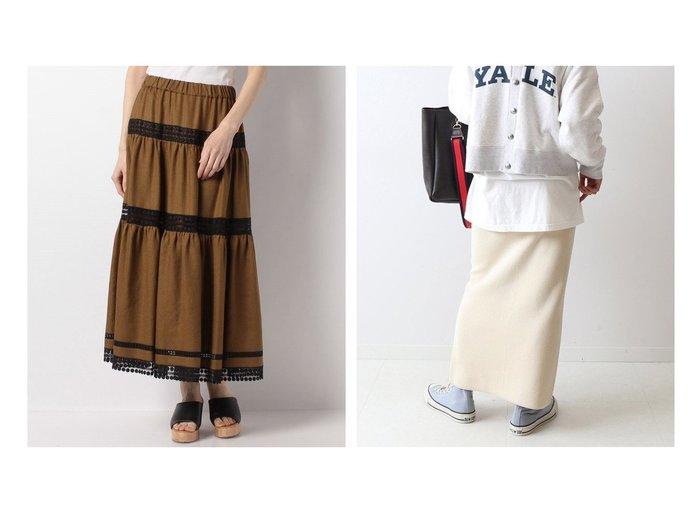 【FRAMeWORK/フレームワーク】のコットンハリヌキスカート2&【ANAYI/アナイ】のリネンライクティアードスカート 【スカート】おすすめ!人気、トレンド・レディースファッションの通販  おすすめファッション通販アイテム レディースファッション・服の通販 founy(ファニー) ファッション Fashion レディースファッション WOMEN スカート Skirt Aライン/フレアスカート Flared A-Line Skirts ティアードスカート Tiered Skirts NEW・新作・新着・新入荷 New Arrivals ギャザー シャイニー フレア レース 2021年 2021 2021春夏・S/S SS/Spring/Summer/2021 S/S・春夏 SS・Spring/Summer おすすめ Recommend セットアップ フィット |ID:crp329100000038323