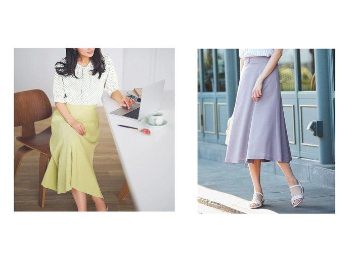 【any SiS/エニィ スィス】の【洗える】フェミニンマチフレア スカート 【スカート】おすすめ!人気、トレンド・レディースファッションの通販  おすすめファッション通販アイテム レディースファッション・服の通販 founy(ファニー) ファッション Fashion レディースファッション WOMEN スカート Skirt Aライン/フレアスカート Flared A-Line Skirts 送料無料 Free Shipping トレンド フレア フロント 洗える |ID:crp329100000038334