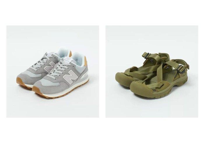 【KEEN/キーン】のZERRAPORT II&【new balance/ニューバランス】のWL574 【シューズ・靴】おすすめ!人気、トレンド・レディースファッションの通販  おすすめファッション通販アイテム インテリア・キッズ・メンズ・レディースファッション・服の通販 founy(ファニー) https://founy.com/ ファッション Fashion レディースファッション WOMEN クッション シューズ スニーカー バランス パステル フォルム 人気 サンダル スポーツ |ID:crp329100000038344